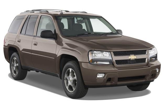 больные места Chevrolet TrailBlazer