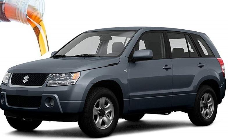 Заправочные объемы и марки ГСМ Suzuki Grand Vitara