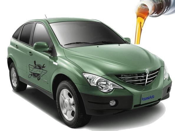 Рекомендуемые объемы и марки жидкостей ГСМСсангЙонг Актион