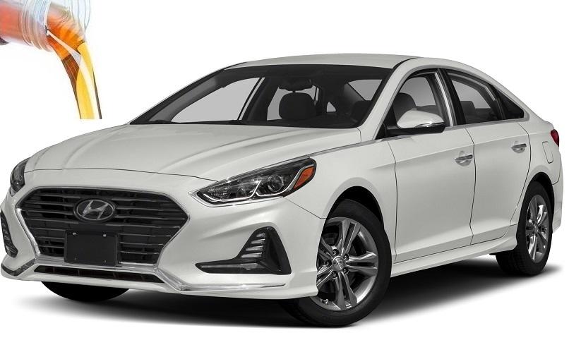 Сколько заливать масла и жидкостей в Hyundai Sonata