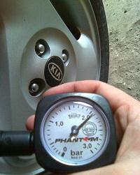 давление в шине киа оптима