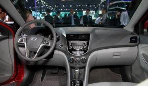 салон Hyundai Solaris