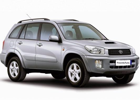 Слабые места Toyota Rav 4 II поколения