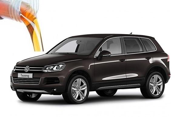 Объем масел и жидкостей Volkswagen Touareg