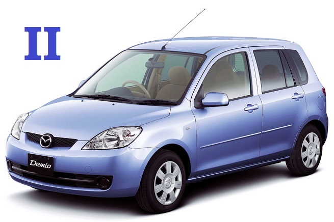 Недостатки Mazda Demio 2002-2007 года выпуска