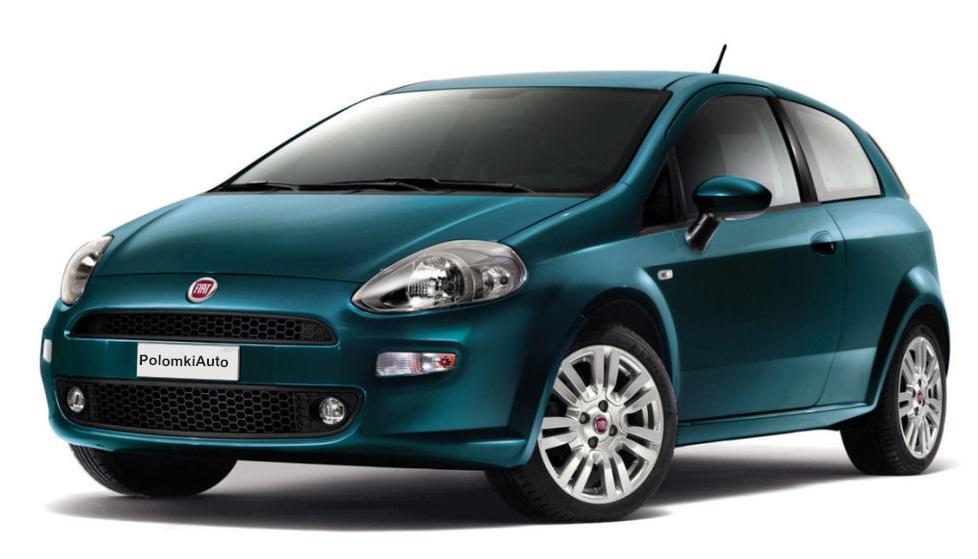 Слабые места и недостатки Fiat Punto 3 поколеения