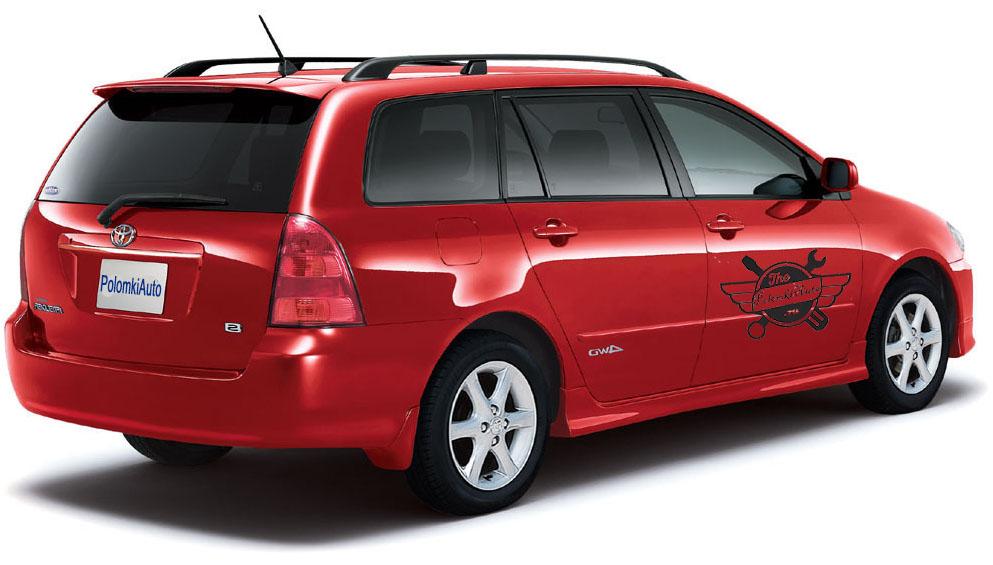 Слабые места, достоинства и недостатки Toyota Corolla Fielder