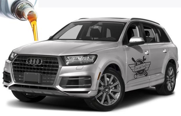 масло и сколько жидкости заливать в Audi Q7