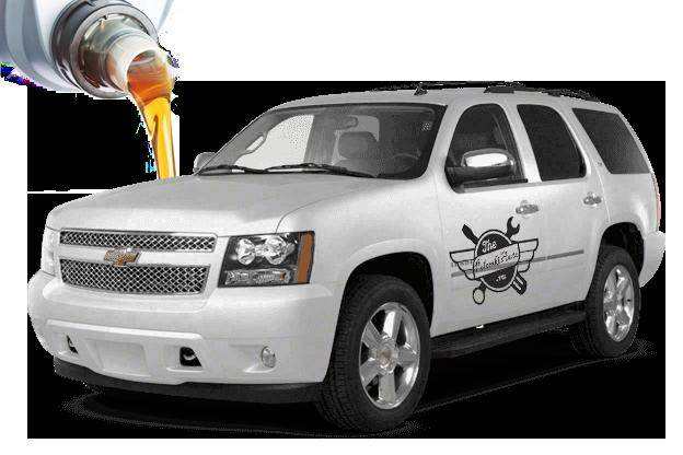 масло и жидкости заливать в Chevrolet Tahoe