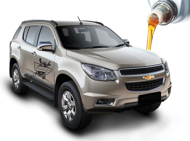 объемы масел и марки заправки Chevrolet TrailBlazer