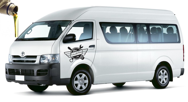 марки масел Toyota Hiace