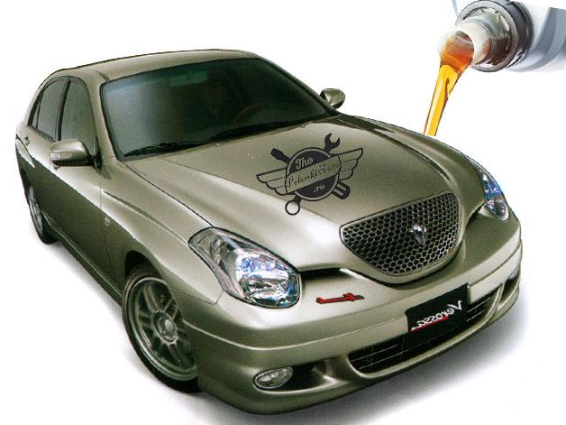 масла и жидкости в Toyota Verossa