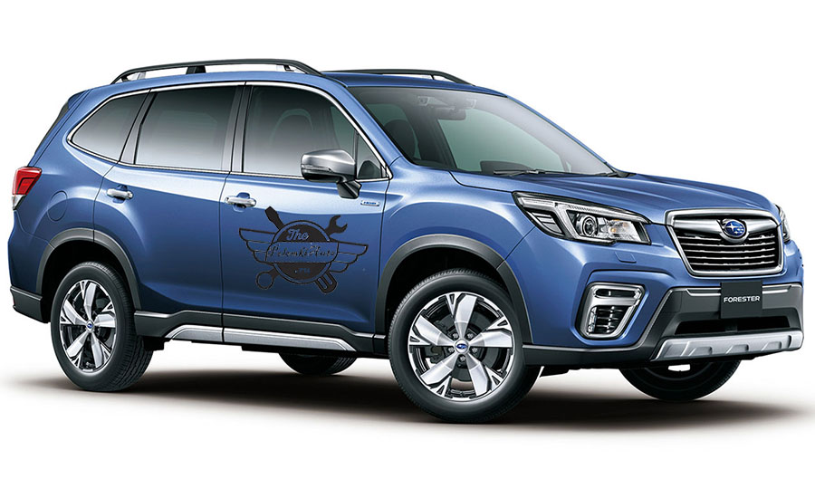 выбрать сборку Subaru Forester