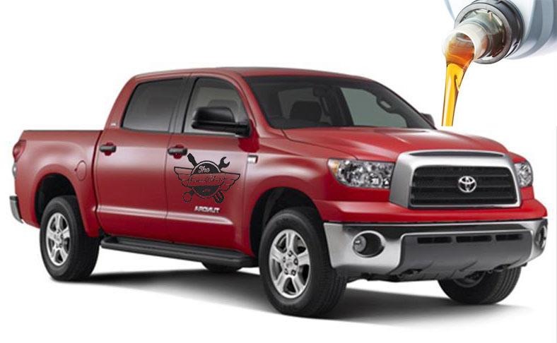 жидкости и масла в Toyota Tundra