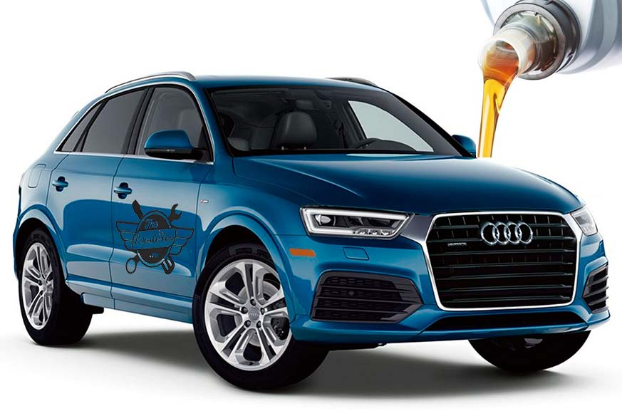 объем масел и жидкостей Audi Q3