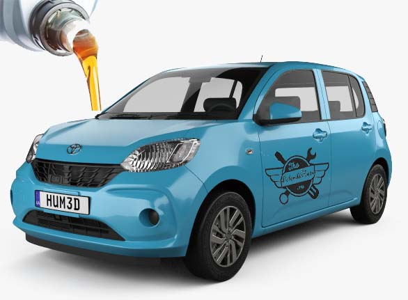 жидкости и масла в Toyota Passo