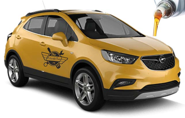 масло в Opel Mokka