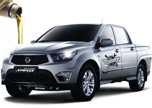 масло в SsangYong Actyon Sports