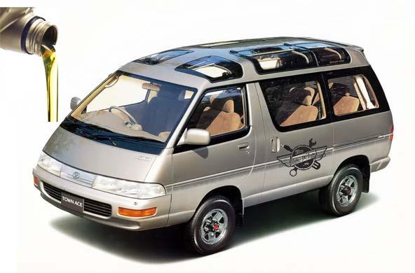 масло в Toyota Lite Ace