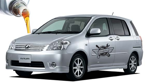 масло в Toyota Raum