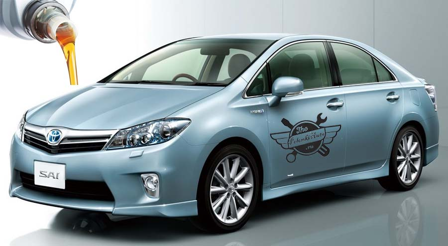 масло в Toyota Sai