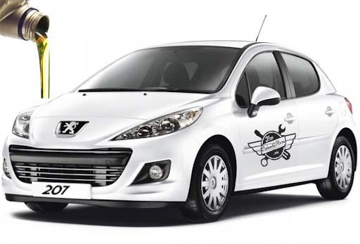 масло в Peugeot 207