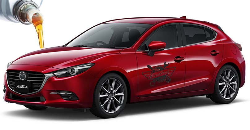 масло в Mazda Axela