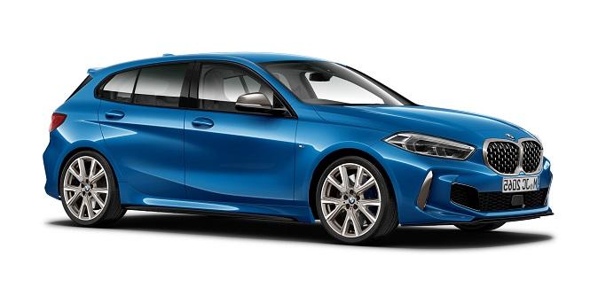 малолитражный BMW 1 series