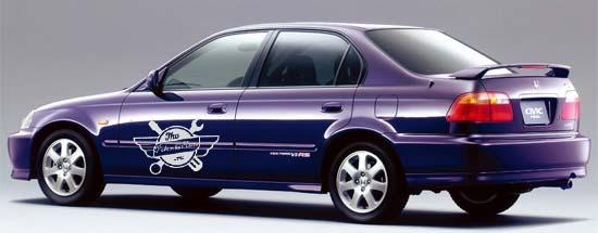 масло в Honda Civic Ferio 3
