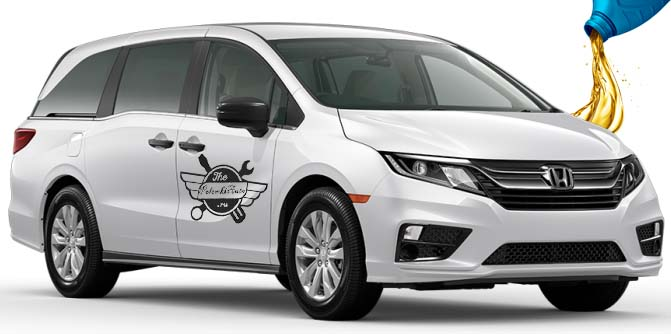 масло в Honda Odyssey 5
