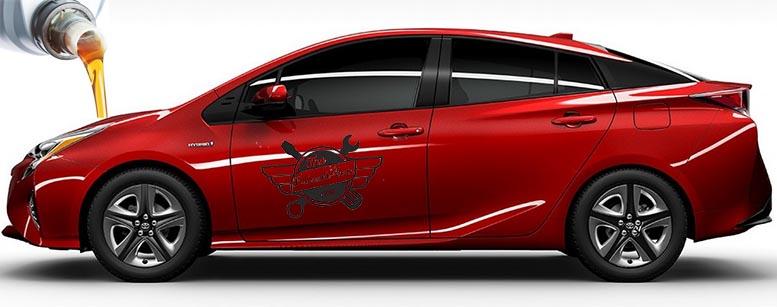 ГСМ Toyota Prius 4(XW50)