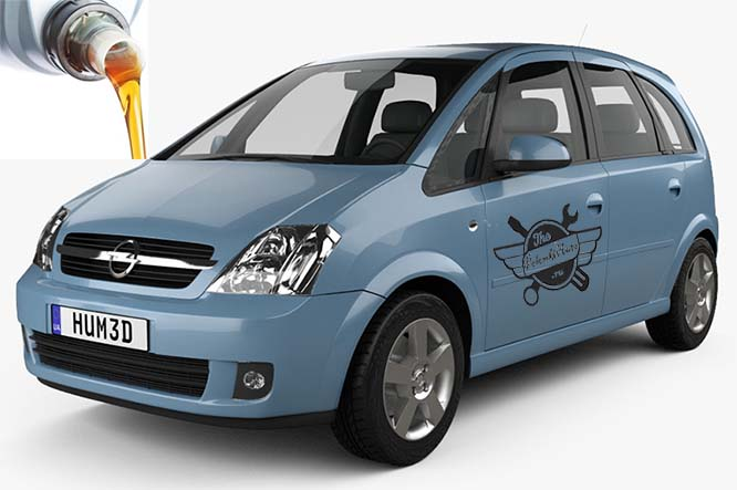 масла в Opel Meriva